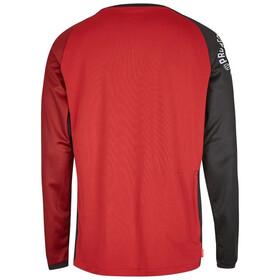 Protective Live & Loud LS Shirt Herren dark red